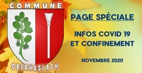 Page d'information COVID 19